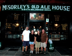 Summer trip to New York City...Historical Irish Pub.